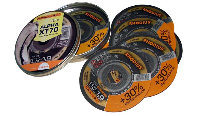 Тонкие отрезные круги Rhodius